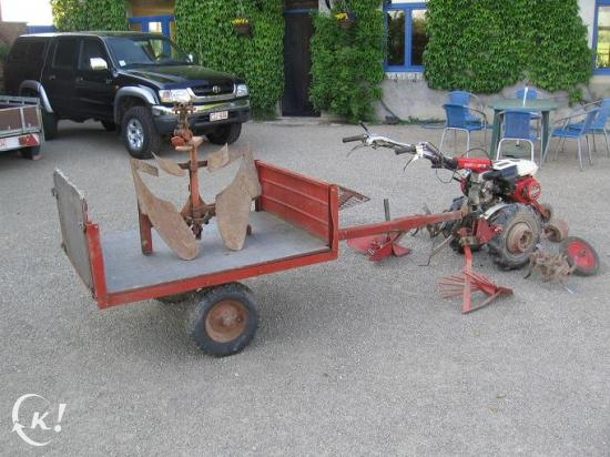 motoculteur honda f460