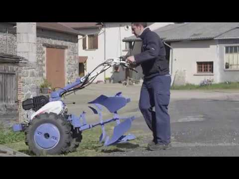 motoculteur iseki sa 600