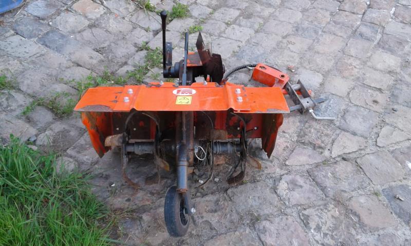 motoculteur kubota avec rotovator