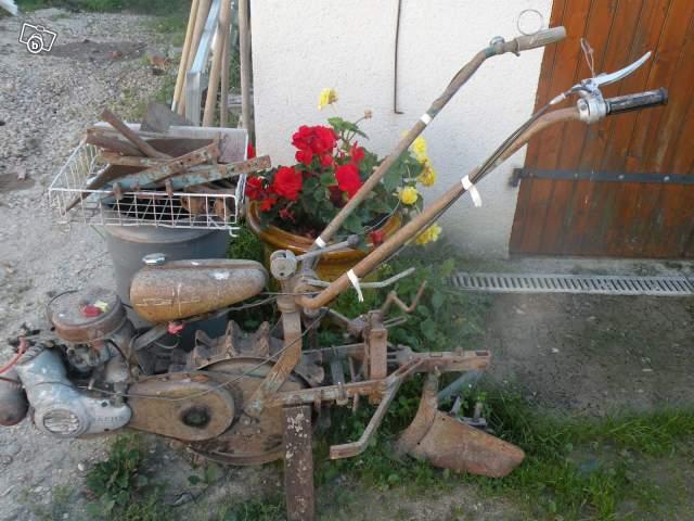 motoculteur staub 1965
