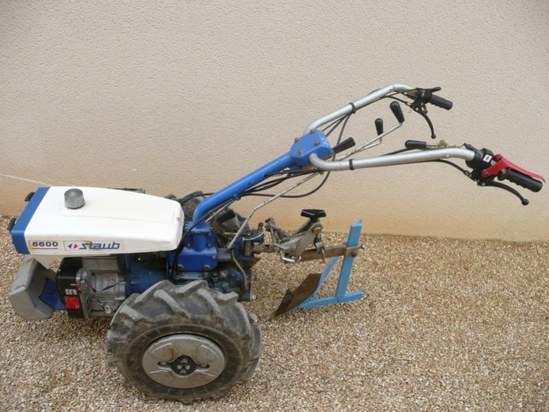 motoculteur staub 6600
