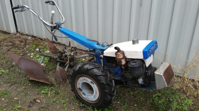 motoculteur staub 9500 moteur lombardini
