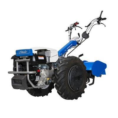 motoculteur staub avec enfouisseur de pierre