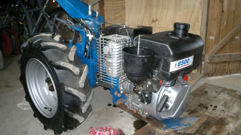 motoculteur staub moteur lombardini diesel