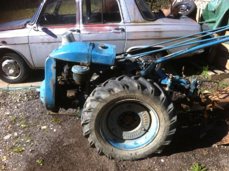 motoculteur staub pp4 diesel