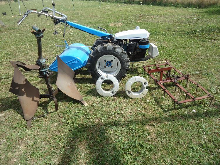 motoculteur staub rancher junior occasion