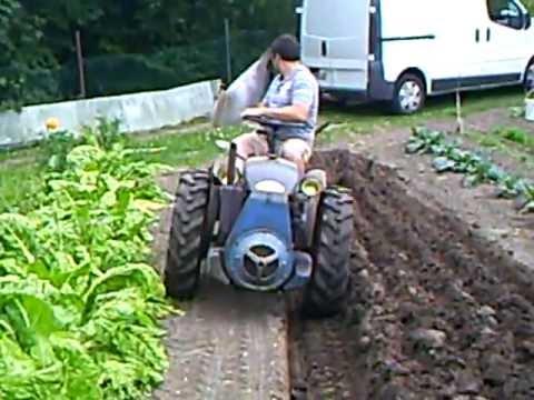 motoculteur staub rt 411