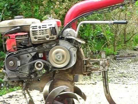 motoculteur honda courroie