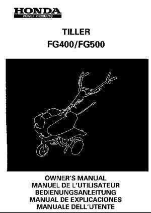 motoculteur honda f800 fiche technique