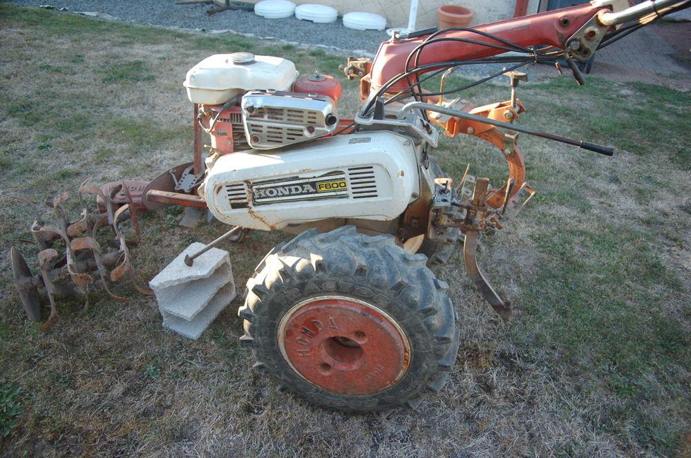 motoculteur kubota ka 450