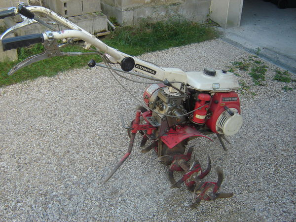 motoculteur kubota lg 110 fr
