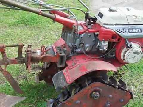 motoculteur kubota lg 140 t