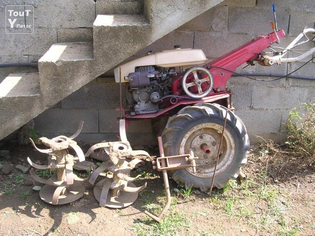 motoculteur kubota lg 170 t