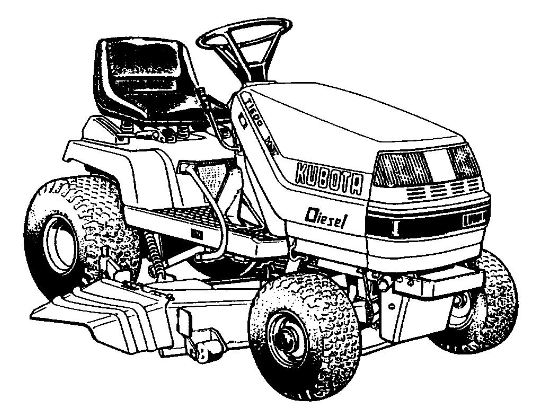 motoculteur kubota lg 170
