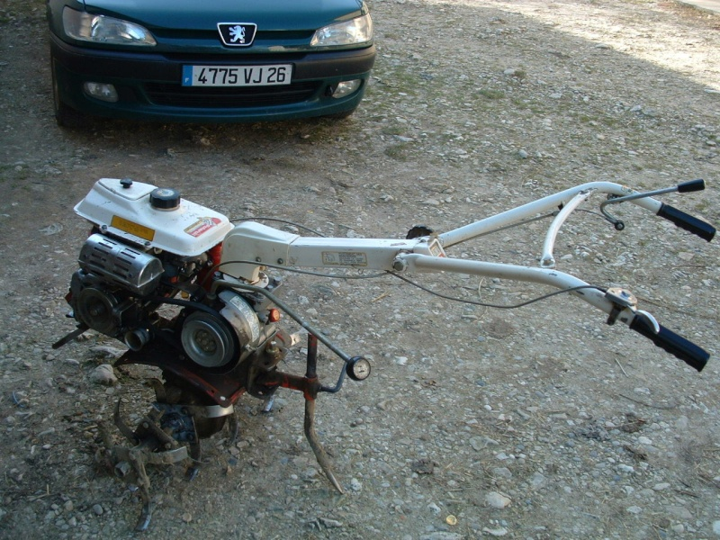 motoculteur kubota t 420 c