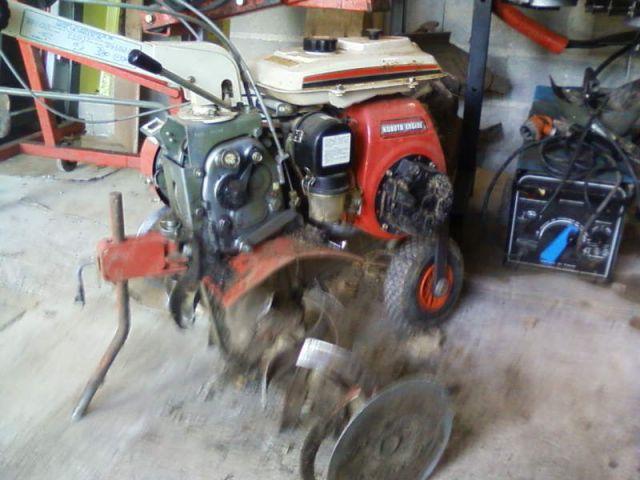 motoculteur kubota t350 fiche technique