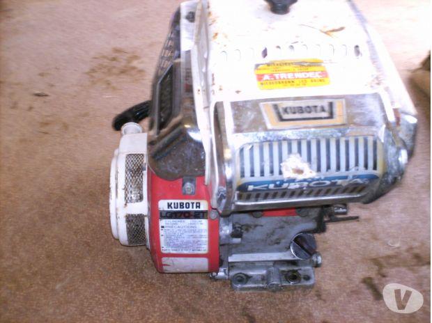 motoculteur kubota t350 puissance