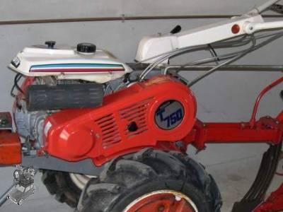 motoculteur kubota t420c