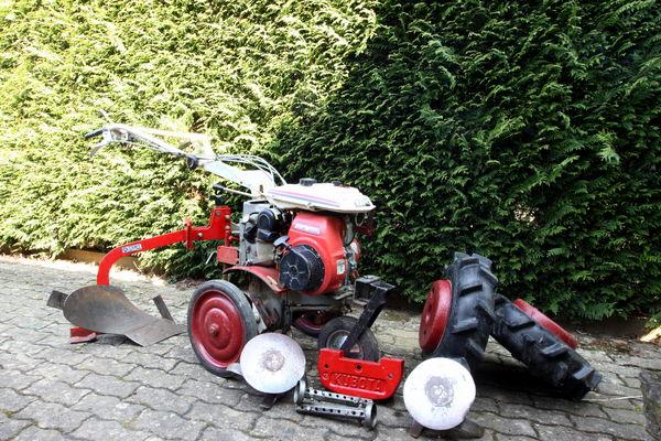 motoculteur kubota t650