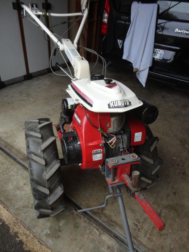 motoculteur kubota t750 manuel