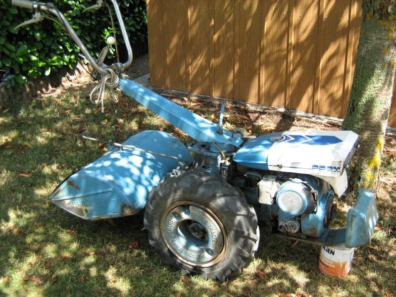 motoculteur staub 1980