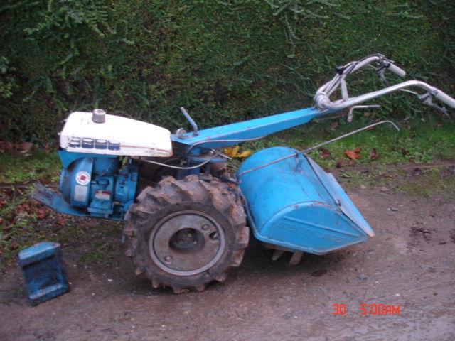 motoculteur staub 8000