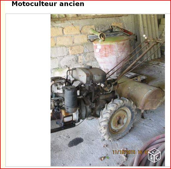 motoculteur staub moteur hatz