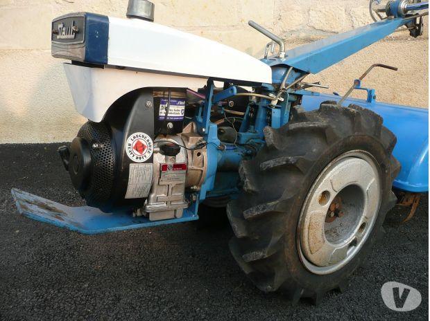 motoculteur staub moteur lombardini