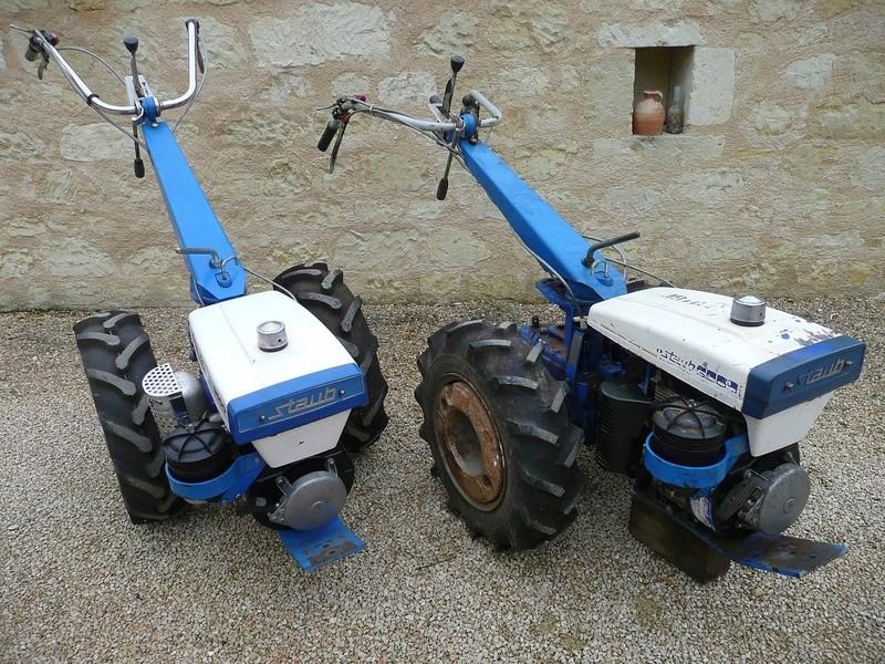 motoculteur staub rancher master plus